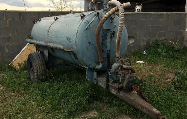 Cuba cisterna para tractor
