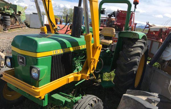 Tractor john deere 1635 con pala segunda mano