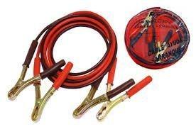 pinzas cable para el arranque de un coche sin batería